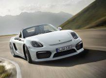 Porsche Boxster Spyder фото