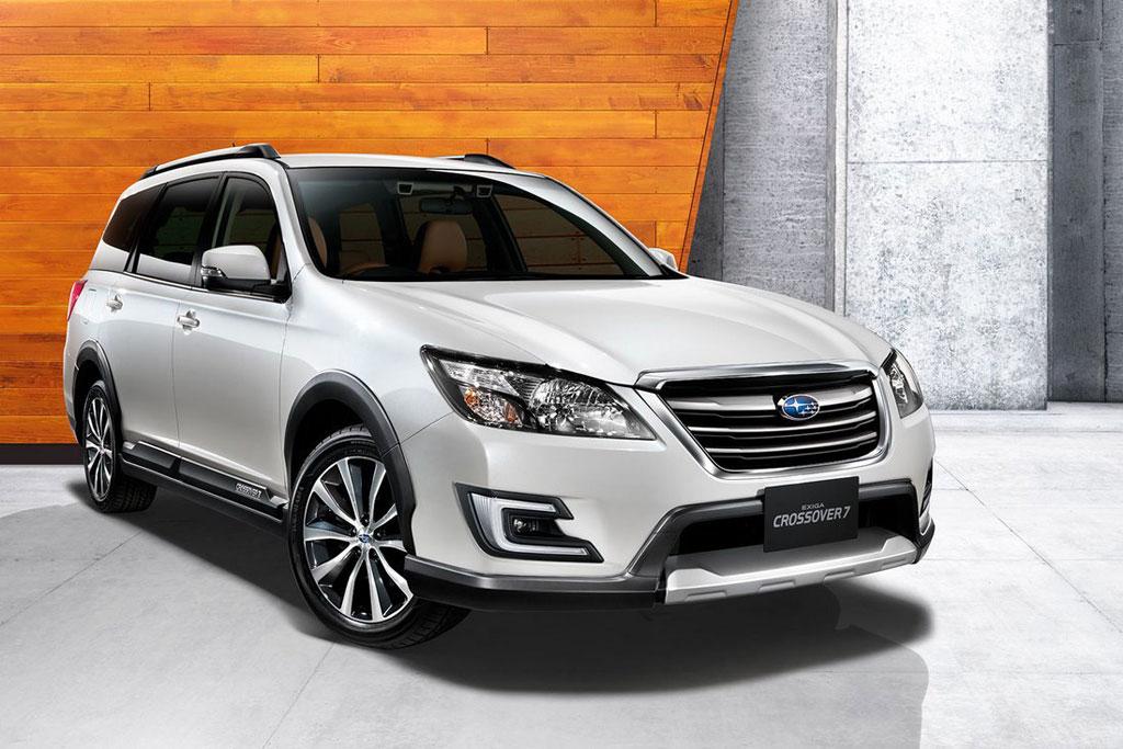 Subaru Exiga Crossover 7 фото