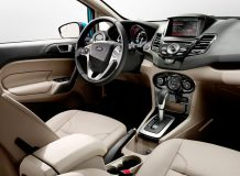 Фото салона Ford Fiesta седан