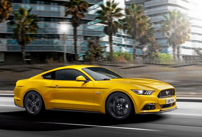 Новый Ford Mustang 2016