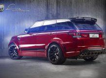 Range Rover Sport CLR RS от Lumma
