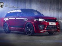 Lumma CLR RS на базе Range Rover Sport