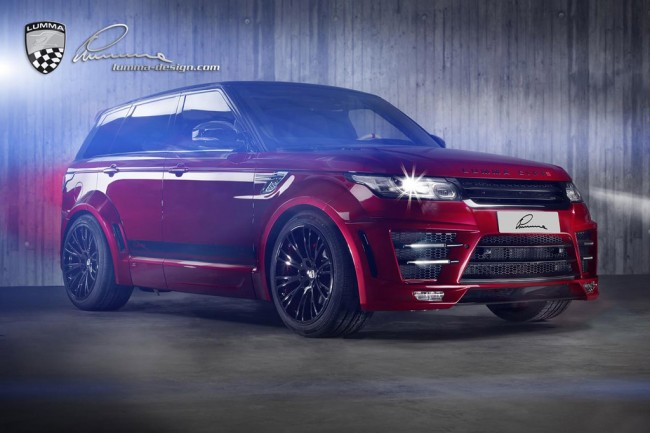 Lumma CLR RS на базе Range Rover Sport 5.0