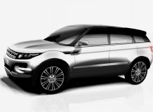 Рендер новой модели Range Rover