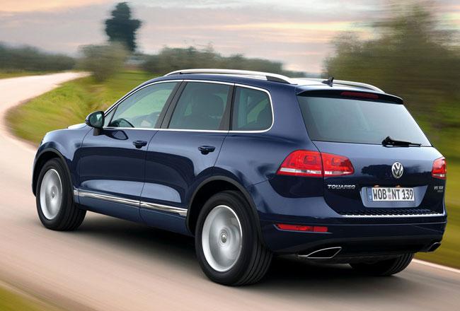 Volkswagen отзывает в России 32 Туарега