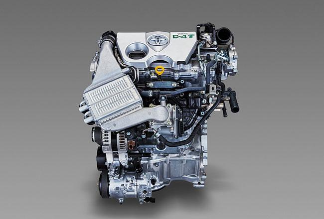 Новый 1,2-литровый турбомотор Toyota