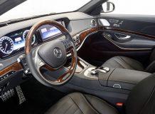 Салон Mercedes W222 от Brabus