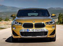 Новый BMW X2 2018 года фото