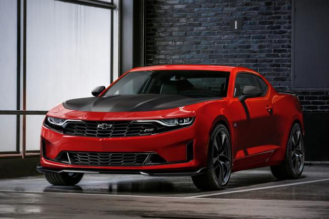 Обновленный Chevrolet Camaro 2019