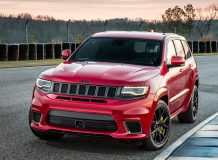 Фото нового Jeep Grand Cherokee Trackhawk