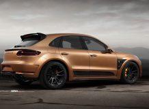 Обвес Urus для Porsche Macan фото