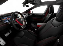 Салон Тесла Модель S от Larte Design