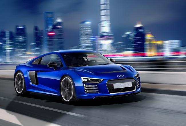 Audi R8 e-tron с автопилотом