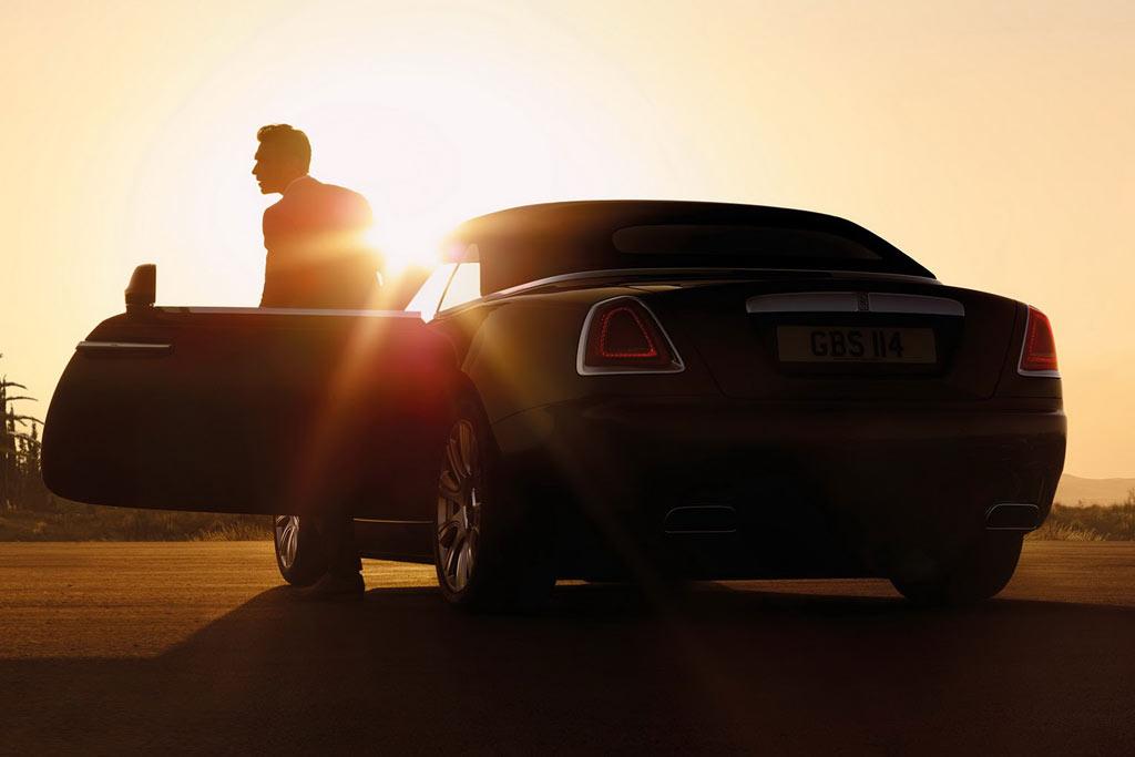 Новая модель Rolls-Royce Wraith