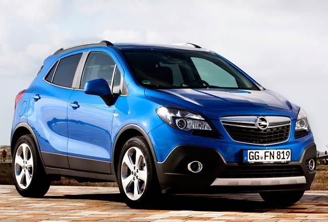 Паркетник Opel Mokka