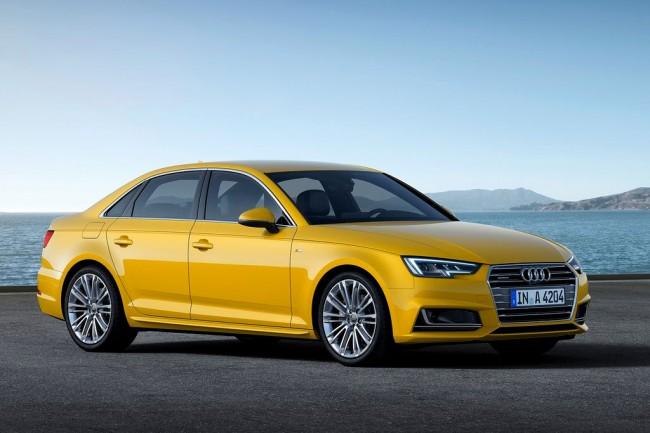 Новая Audi A4 B9 2018