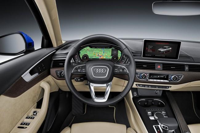 Салон Audi A4 B9
