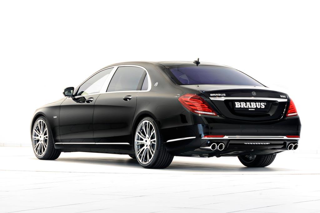 Фото Mercedes-Maybach от Brabus