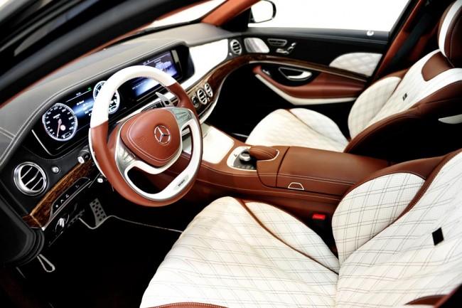 Тюнинг салона Mercedes-Maybach от Brabus
