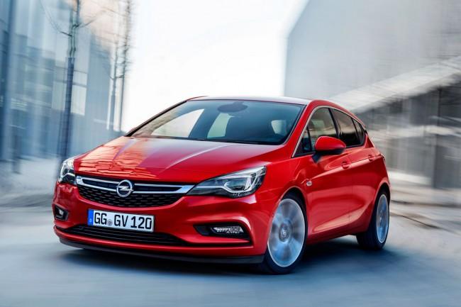 Новый Opel Astra K