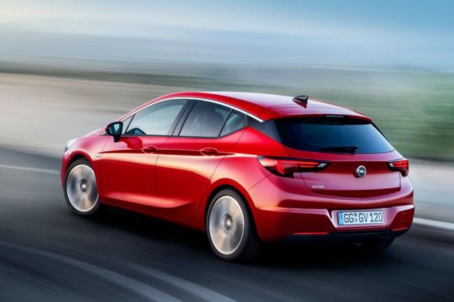 Новый Opel Astra K 2017