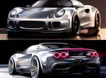 Рендеры Lotus Super Elise