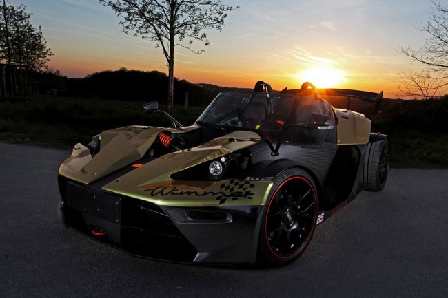 KTM X-Bow GT Dubai Gold Edition от Wimmer