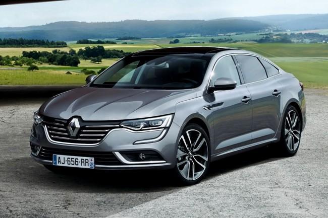 Новый седан Renault Talisman