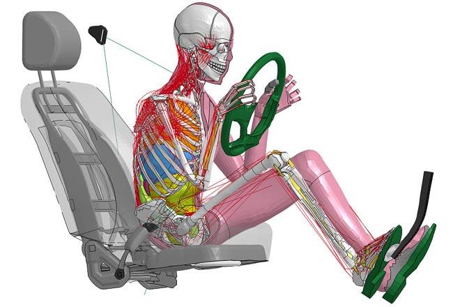 Виртуальный манекен разработанный в Toyota