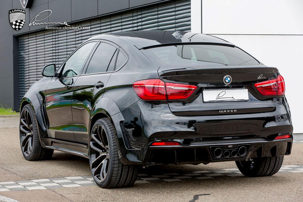 BMW CLR X6 R фото