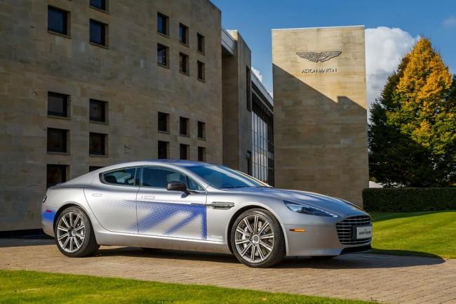Электрический Aston Martin RapidE