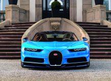 Фото нового Bugatti Chiron