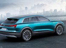 Фото концепта Audi e-tron quattro
