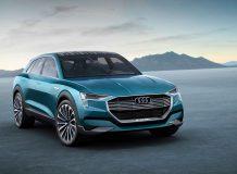 Audi e-tron quattro фото