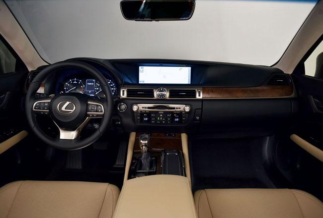 Салон Lexus GS 4 FL