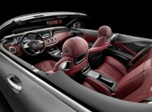 Фото салона S-Class Cabriolet