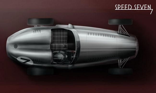 Спидстер Speed 7 от Kahn Design