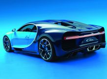 Новый Bugatti Chiron 2016 фото