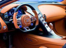 Фото салона Bugatti Chiron