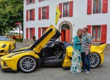 Benjamin и Christine Sloss с их Ferrari FXX K
