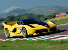 Ferrari FXX K на треке Фьорано