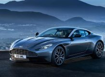 Фото нового Aston Martin DB11