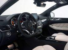 Тюнинг салона 63 GLE Coupe от Brabus