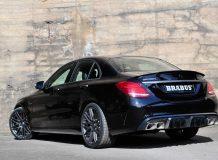Фото тюнинг Mercedes-AMG C63 S от Brabus