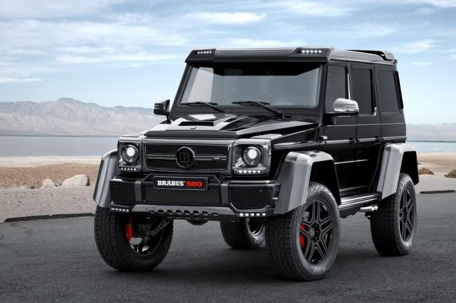 Mercedes G500 4x4 от Brabus