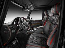 Тюнинг салона Mercedes G500 4x4 о Brabus