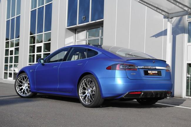 Специалисты Brabus поработали над Tesla Model S