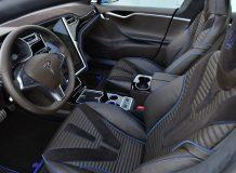 Тюнинг салона Tesla Model S от Brabus