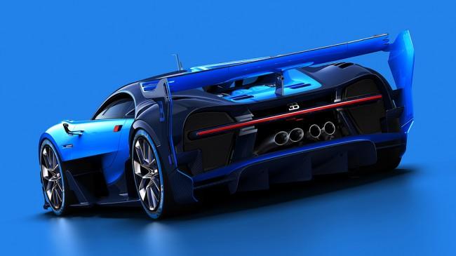 Виртуальный Bugatti Vision Gran Turismo