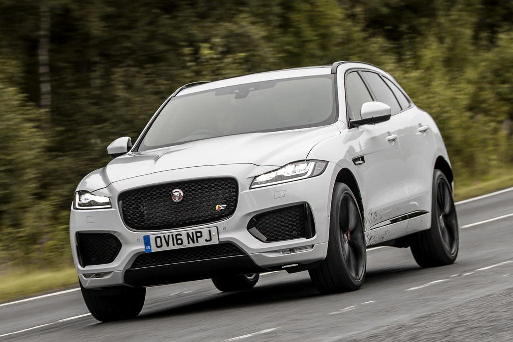 Новая модель Jaguar F-Pace 2019